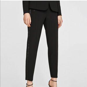 Zara woman's tuxedo pants